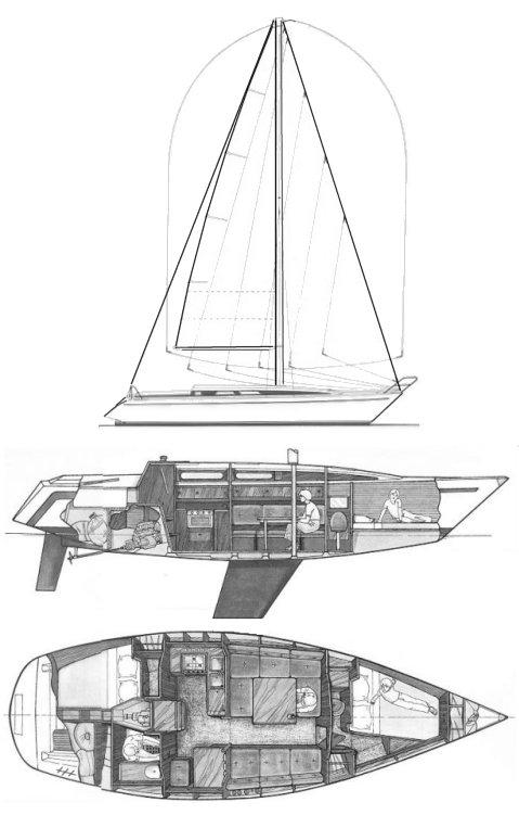 COMET 111 drawing