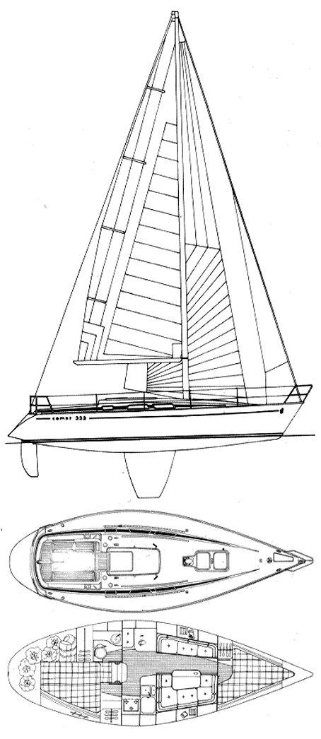 COMET 333 drawing