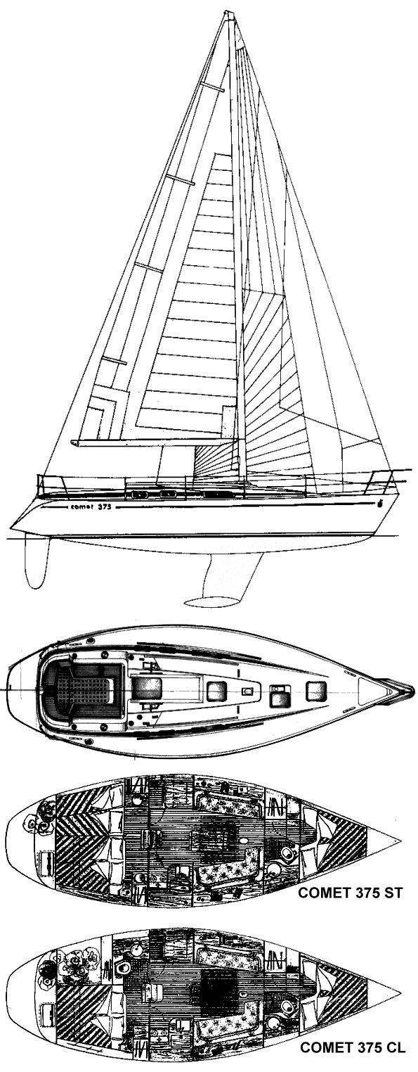 COMET 375 drawing
