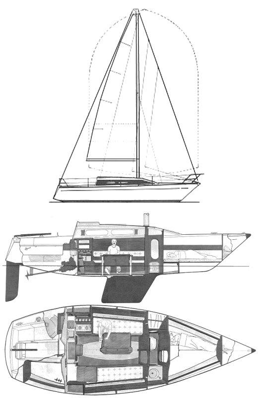 COMET 850 drawing