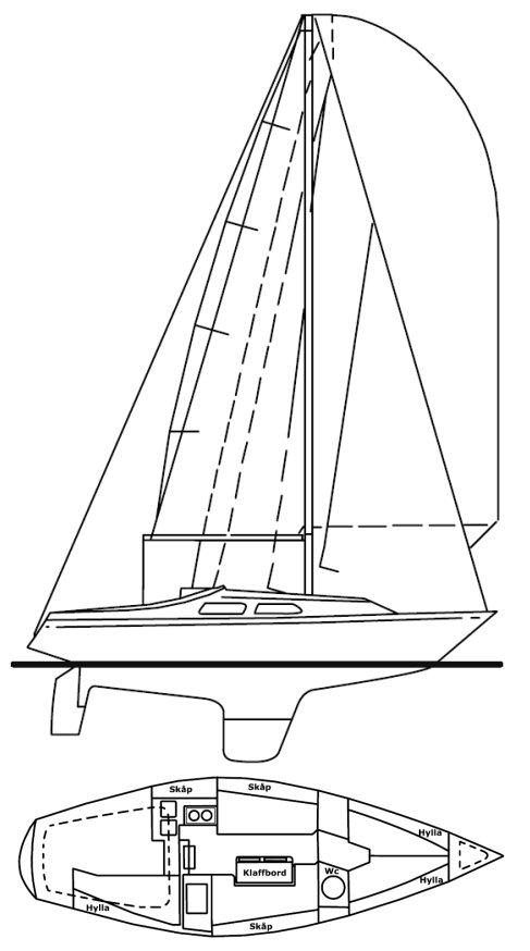 COMFORT 30 drawing