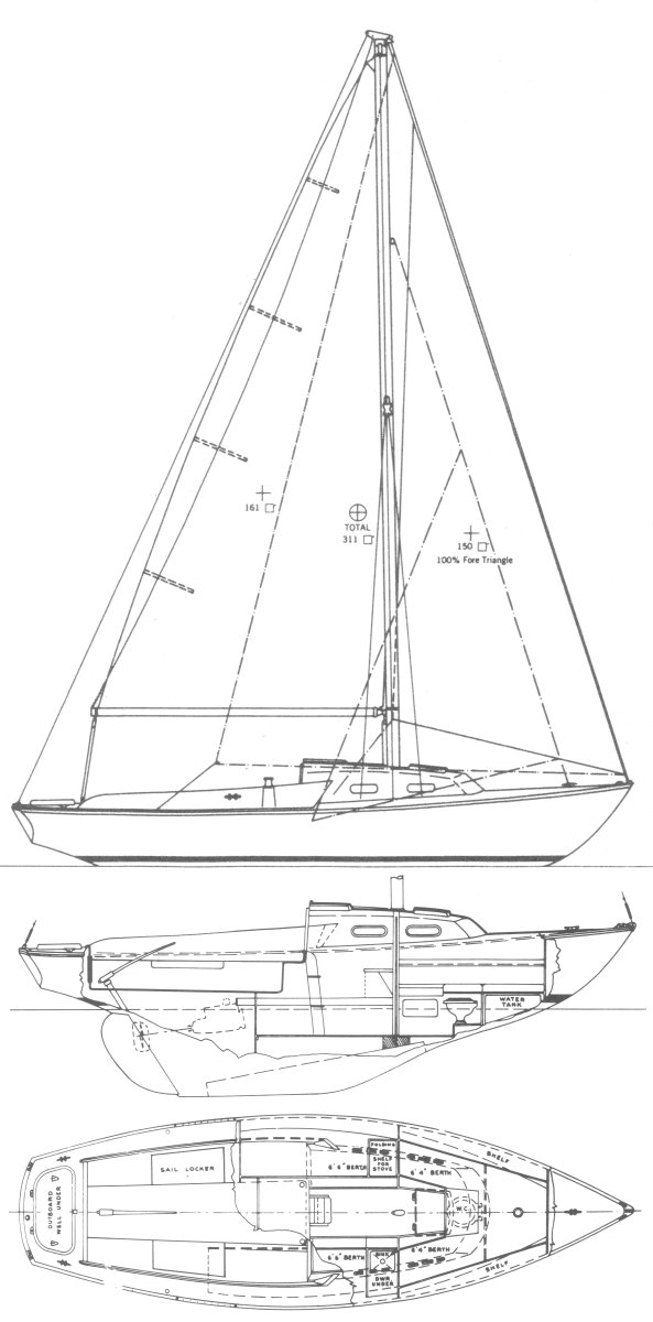 COMMANDER 26 (PEARSON) drawing