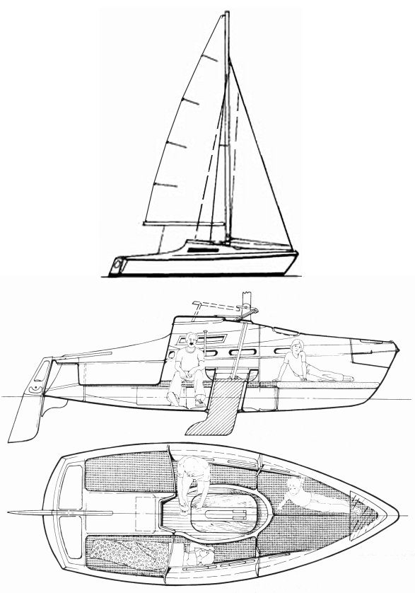 CONDOR 55 drawing