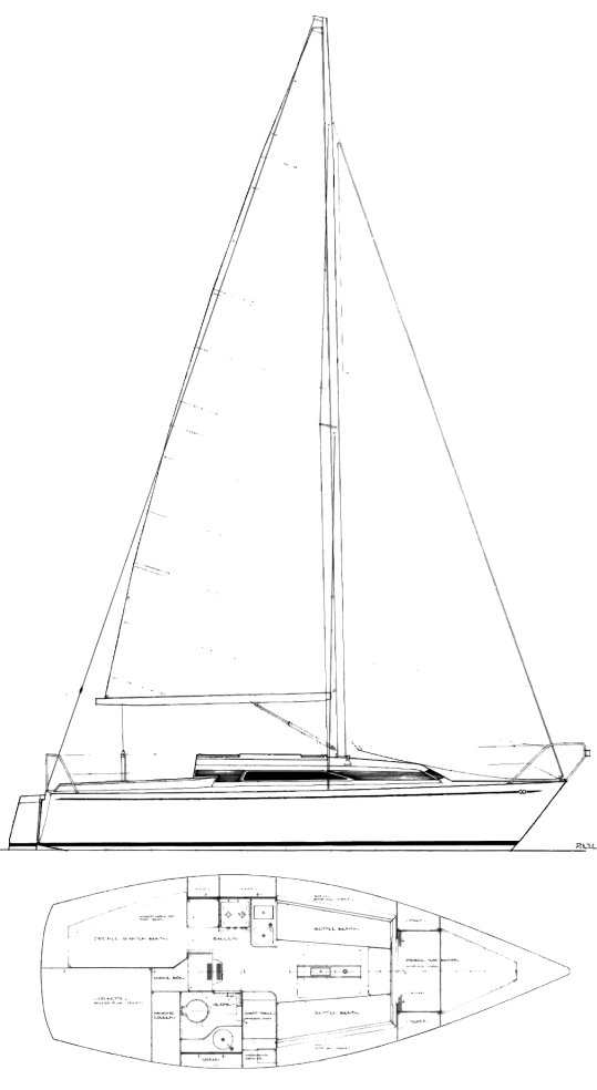 CONTESSA 27 drawing