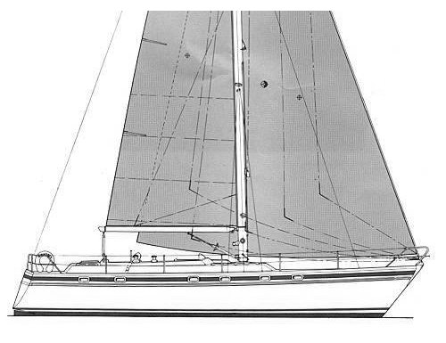 Contest 43 drawing on sailboatdata.com