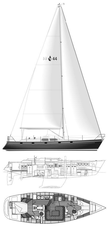 CONTEST 44CS drawing