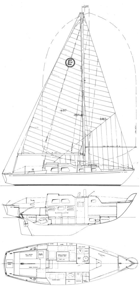 CORINTHIAN 28 drawing