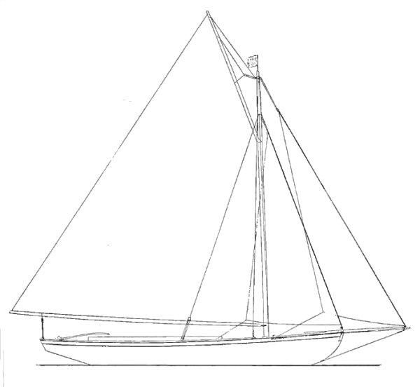CORK HARBOR ONE-DESIGN drawing