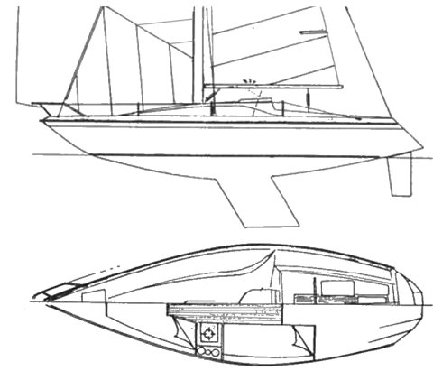 CORMORANT GT 26 drawing