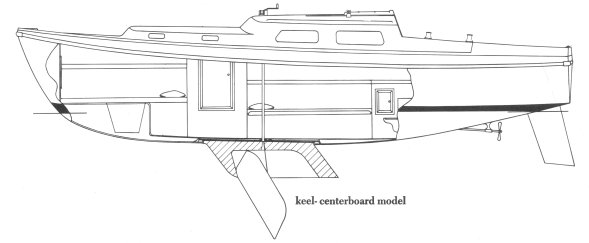 CORONADO 27 CB drawing