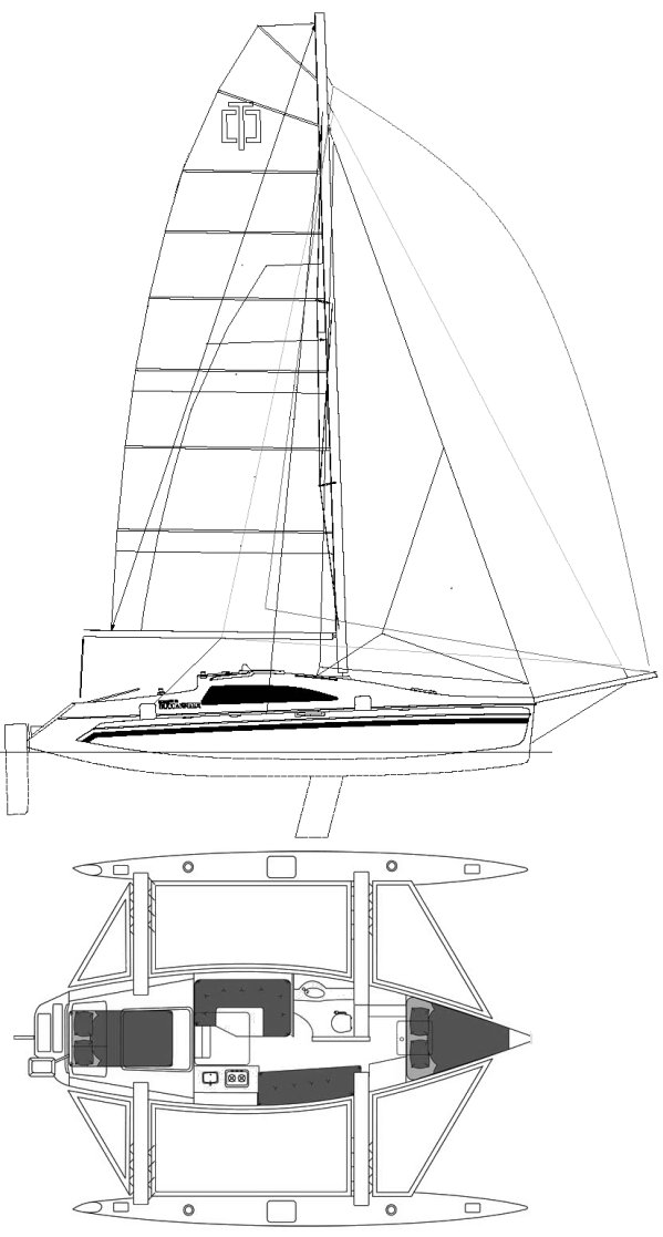 CORSAIR 36 drawing