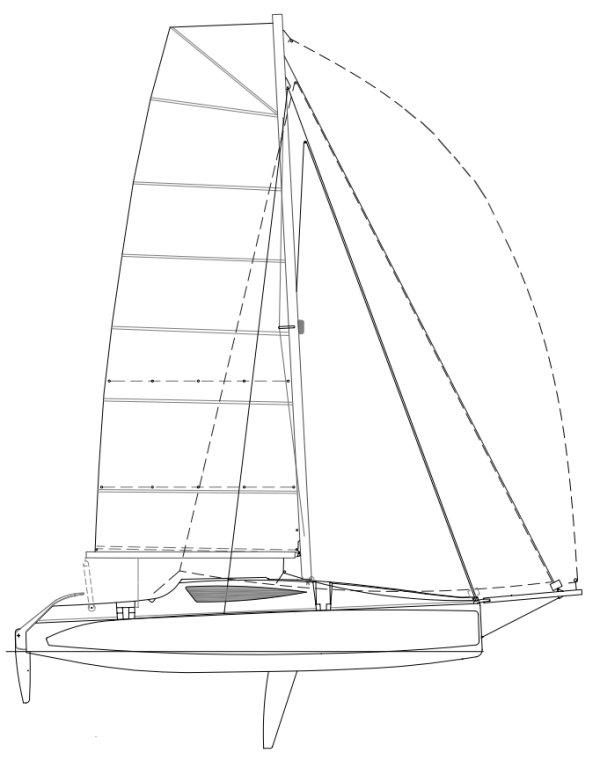 CRUZE 970 (CORSAIR) drawing
