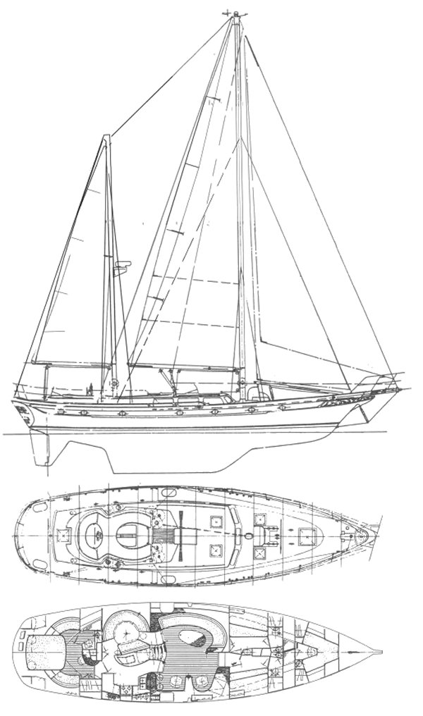 CT 65 drawing on sailboatdata.com