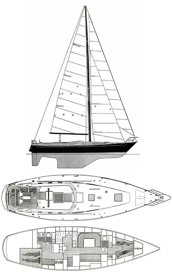 CT 47 drawing on sailboatdata.com