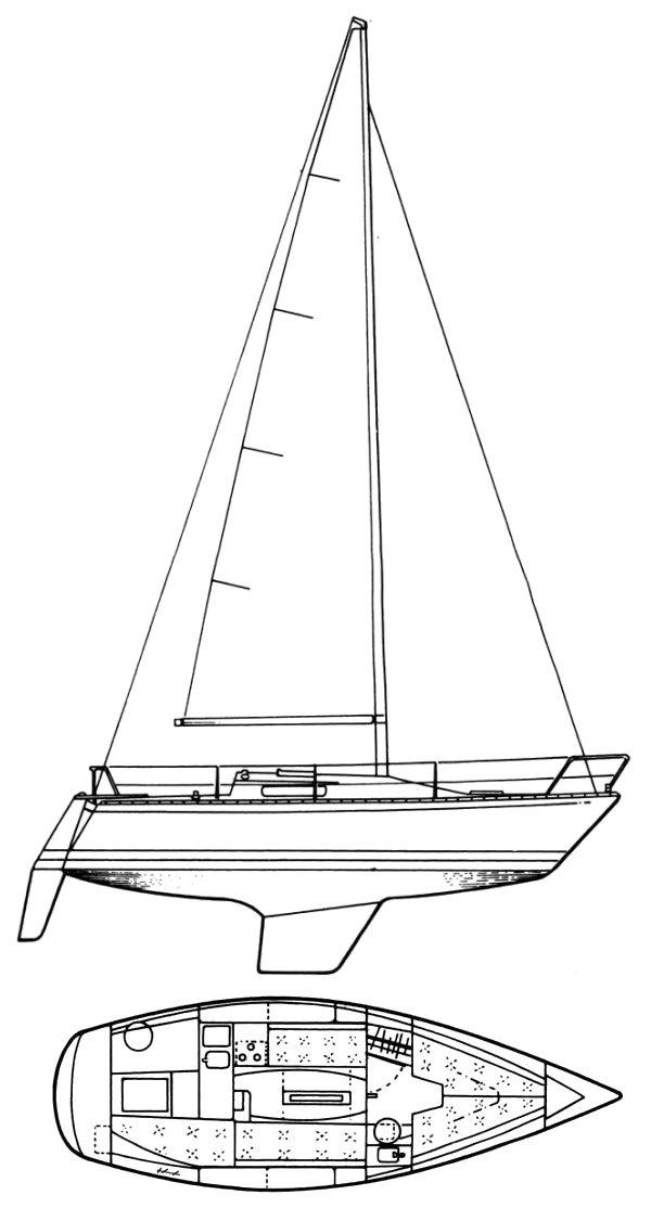 CUMULUS 28 (ALBIN) drawing
