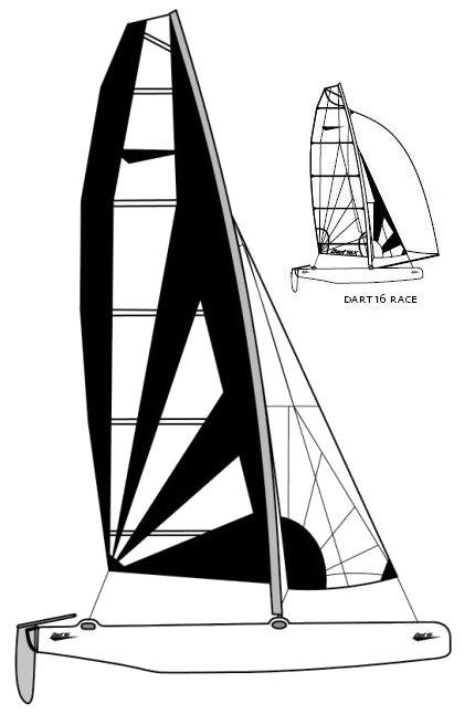 DART 16 drawing