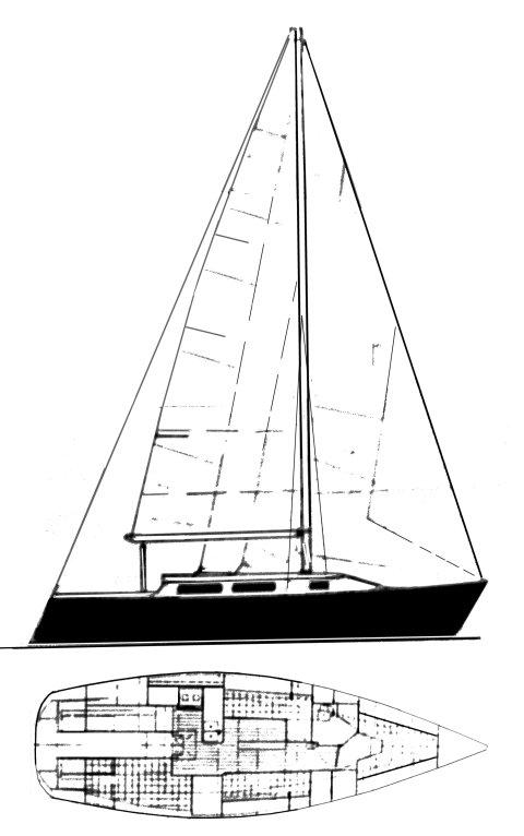 DAVIDSON 35 drawing