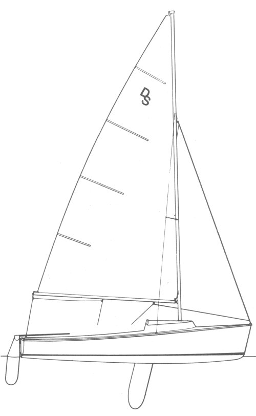 Day Sailor (II) drawing on sailboatdata.com