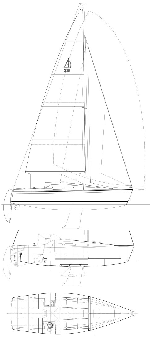 DEHLER 25CR drawing