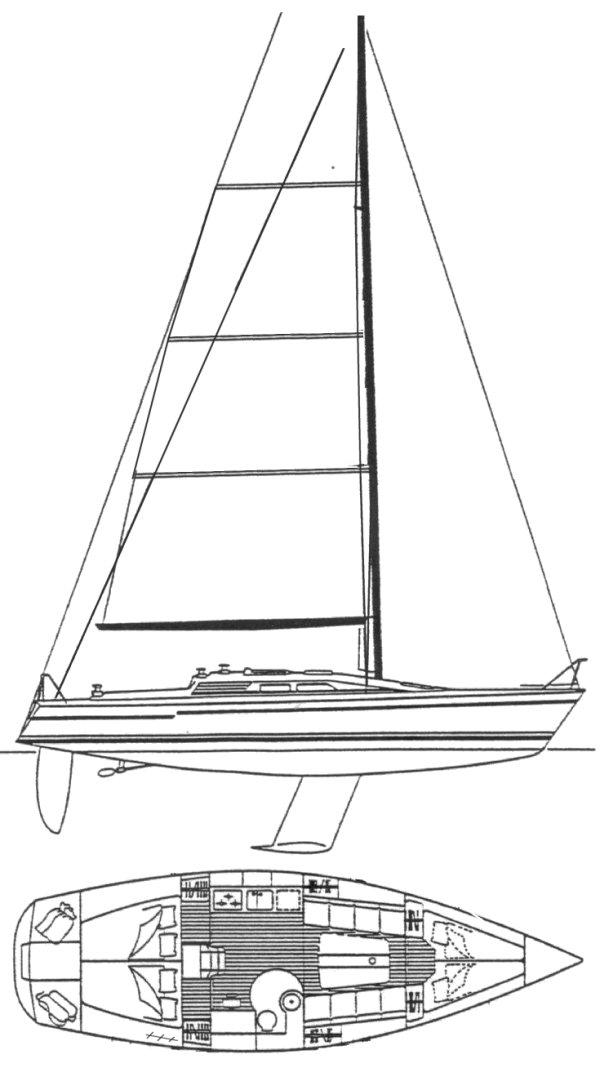 DEHLER 36 DB drawing