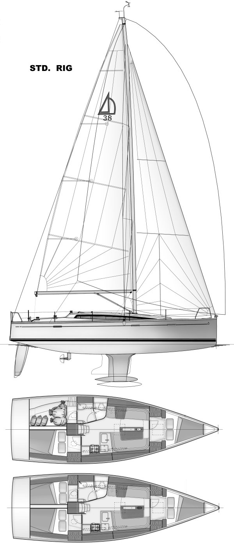 DEHLER 38 (JUDEL/VROLIJK) drawing