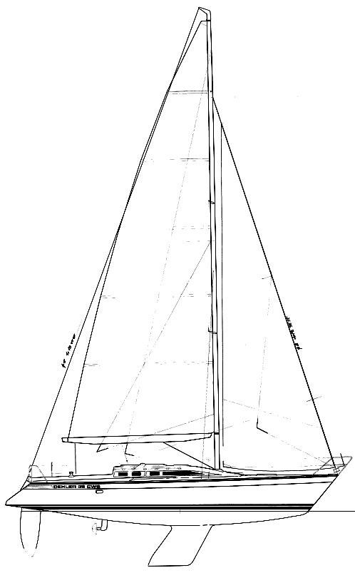 DEHLER 39 CWS drawing