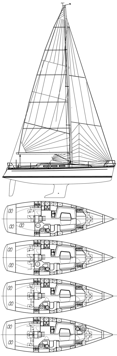 DEHLER 39 SQ drawing
