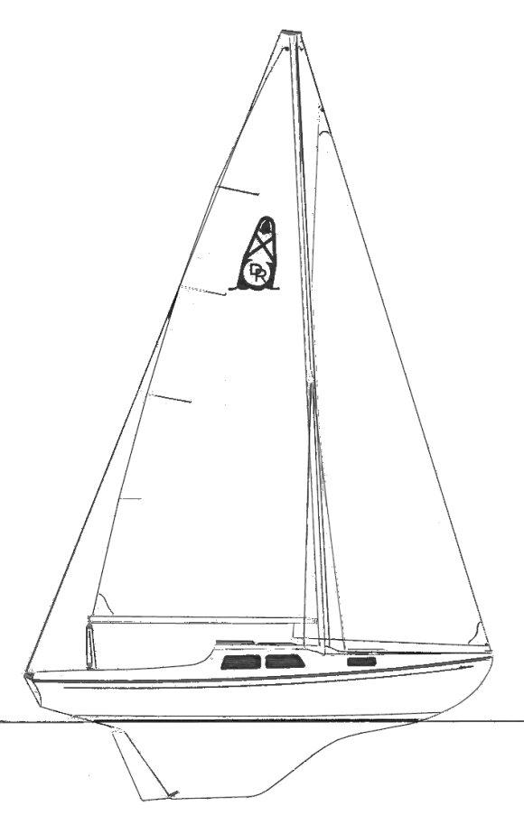 DEL REY 24 drawing