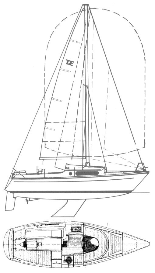 DELANTA 76 (DEHLER) drawing
