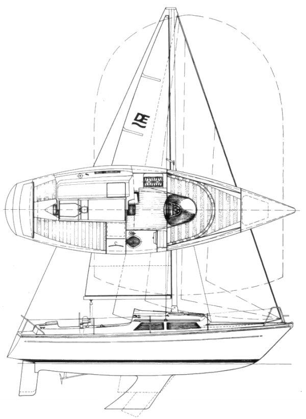 DELANTA 80 (DEHLER) drawing