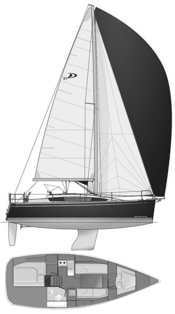 DELPHIA 31 drawing