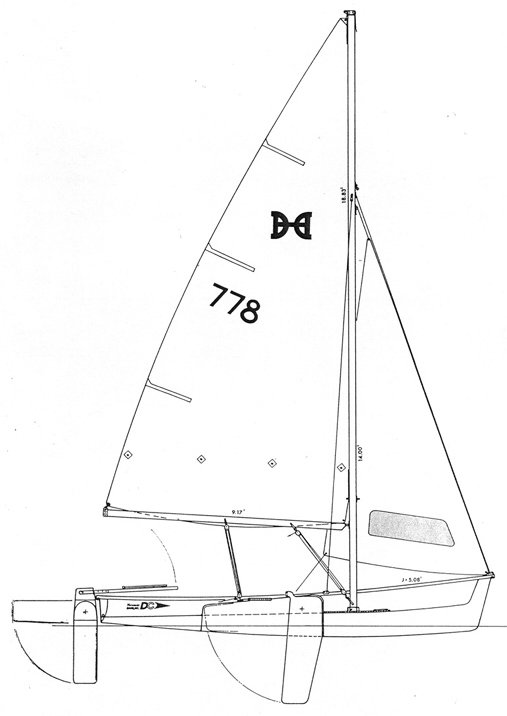 Designers Choice drawing on sailboatdata.com