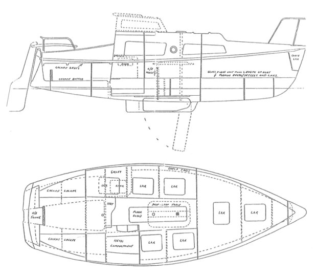 DOCKRELL 22 drawing