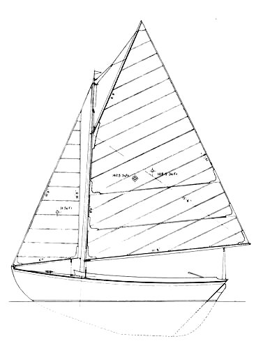 Doughfish drawing on sailboatdata.com