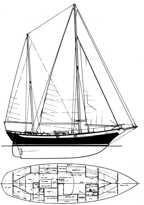 DURBECK 46 (D-46) drawing