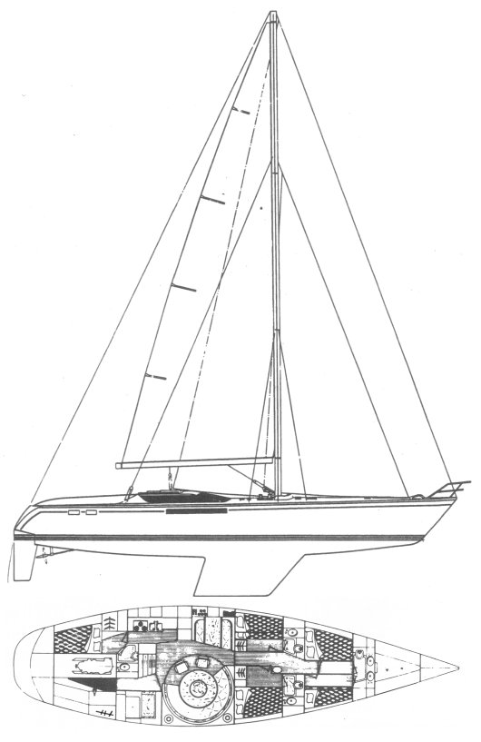 DYNAMIQUE 62 drawing