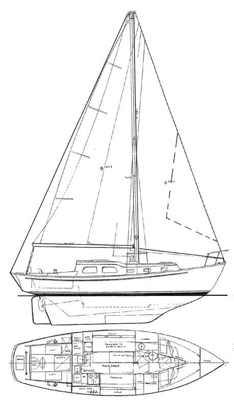 EASTWARD HO SR. 31 drawing