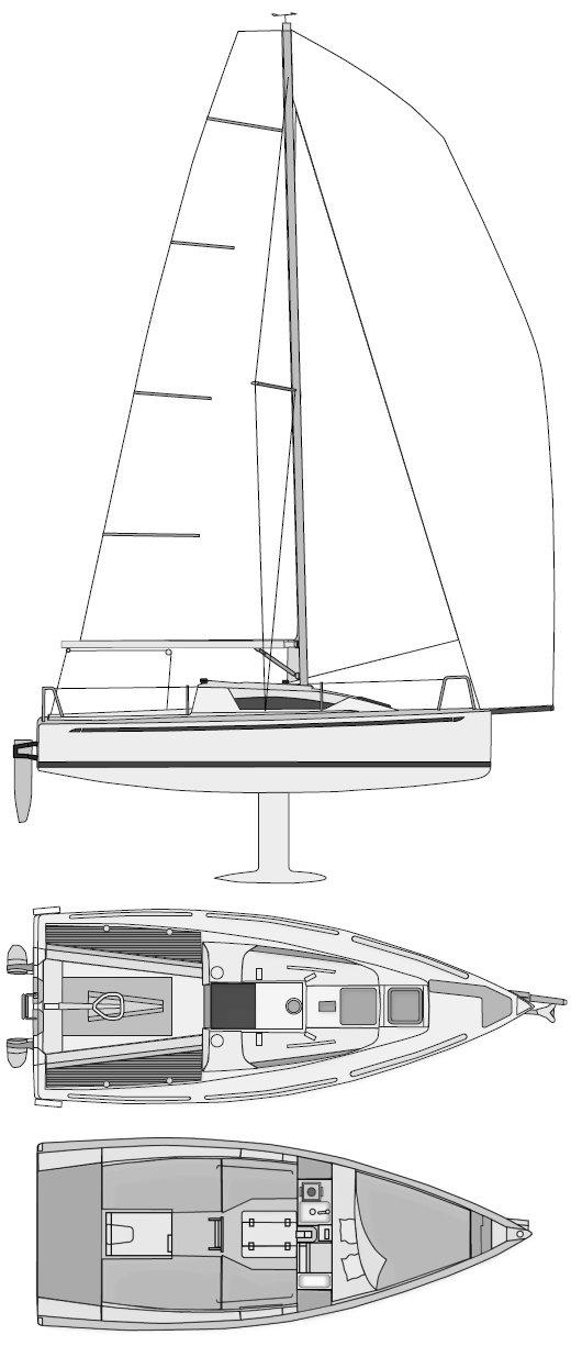 ELAN 210 drawing