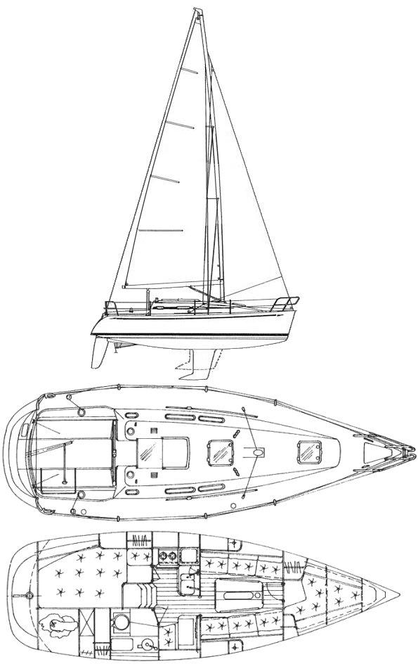 ELAN 295 drawing