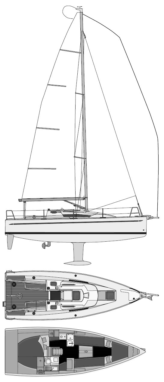 ELAN 310 drawing