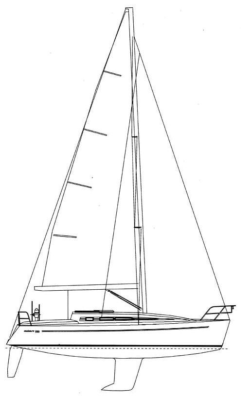 ELAN 333 drawing