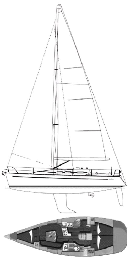 ELAN 37 drawing