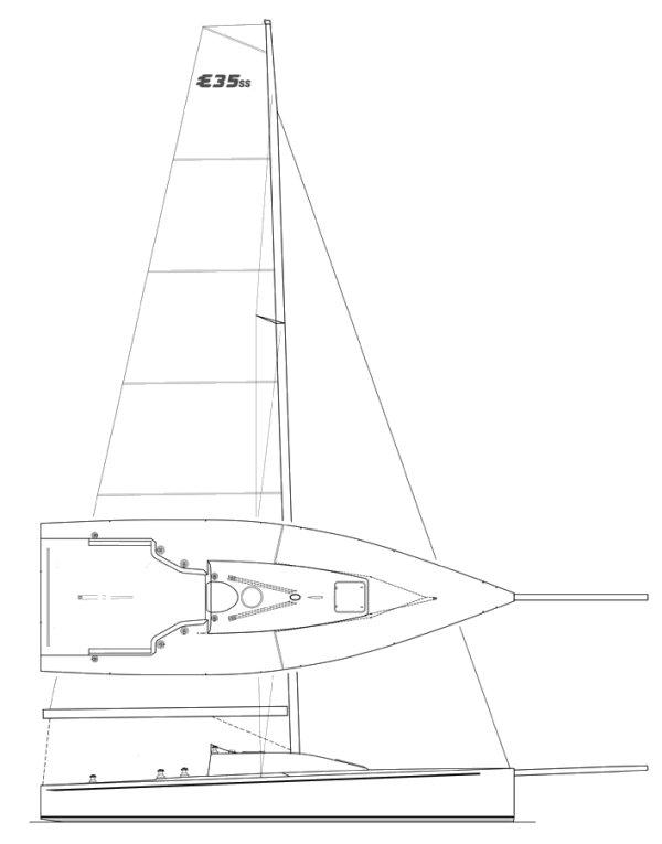 ELLIOTT 35 SS drawing