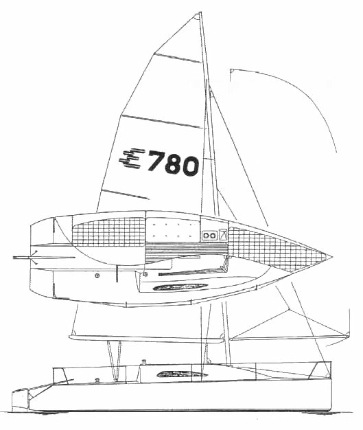 ELLIOTT 780 drawing