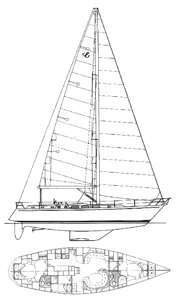ENDEAVOUR 51 drawing