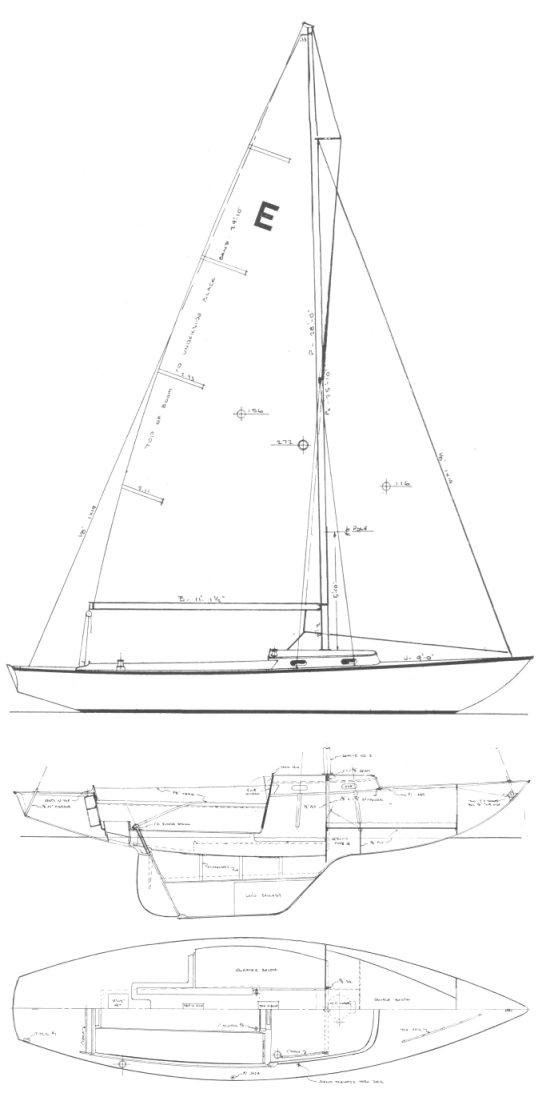 ENDEAVOR 26 (LAPWORTH) drawing