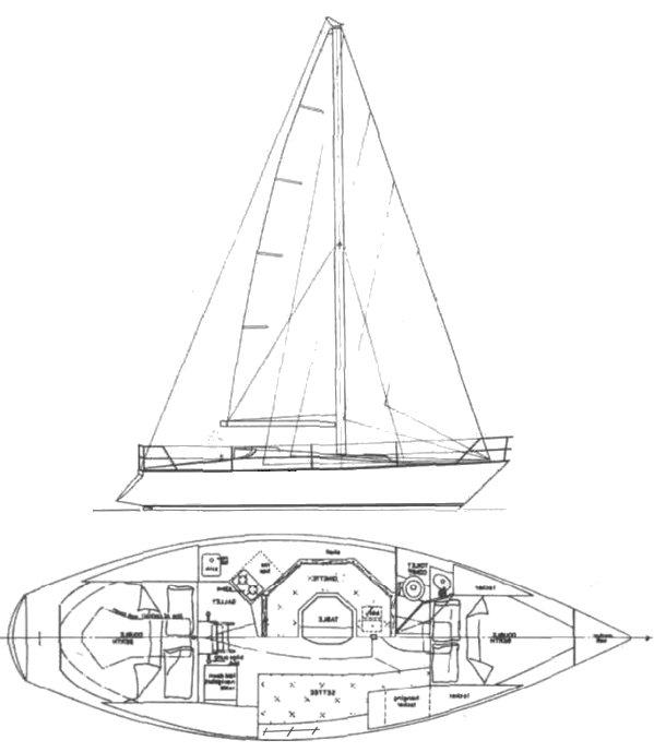 ENDEAVOUR 30 (AUS) drawing