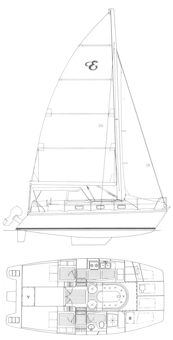 ENDEAVOURCAT 30 drawing