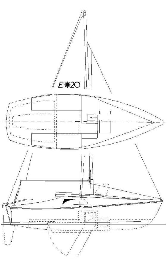 ENSENADA 20 drawing