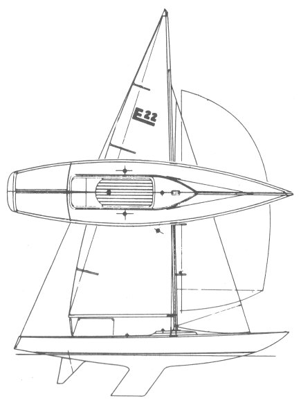 ETCHELLS CLASS drawing